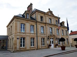 Arromanches-les-Bains - Town hall.