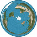 Azimuthal equidistant projection south SW.jpg