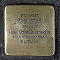 Bárd István stolperstein (Budapest-07 István u 47).jpg