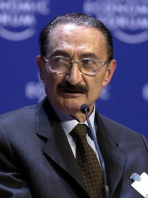 Turkish local elections, 1999 - Image: Bülent Ecevit Davos 2000 cropped