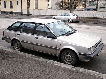 Nissan sunny wikiwand nissan sunny wagon 15 gl europe fandeluxe Images