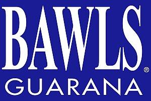 Bawls - Image: BAWLS Guarana Blue BG high res logo