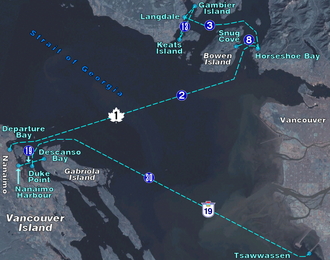 MV Queen of the North - Image: BC Ferries Zone Two