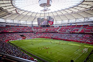 2015 FIFA Women's World Cup - Image: BC Place 2015 Women's FIFA World Cup