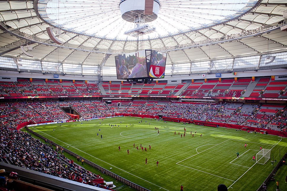 BC Place 2015 Women's FIFA World Cup