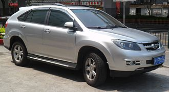 BYD S6 - Image: BYD S6 China 2012 04 12