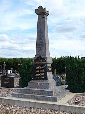 Baâlons - The War Memorial