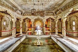 City Palace, Udaipur - Part of Badi Mahal in City Palace, Udaipur