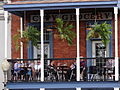 Balcony Cafe with Patrons - Oxford - Mississippi - USA.jpg