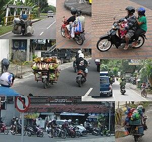 Bali moped col