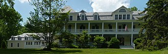 National Register of Historic Places listings in Jackson County, North Carolina - Image: Balsam mountain inn