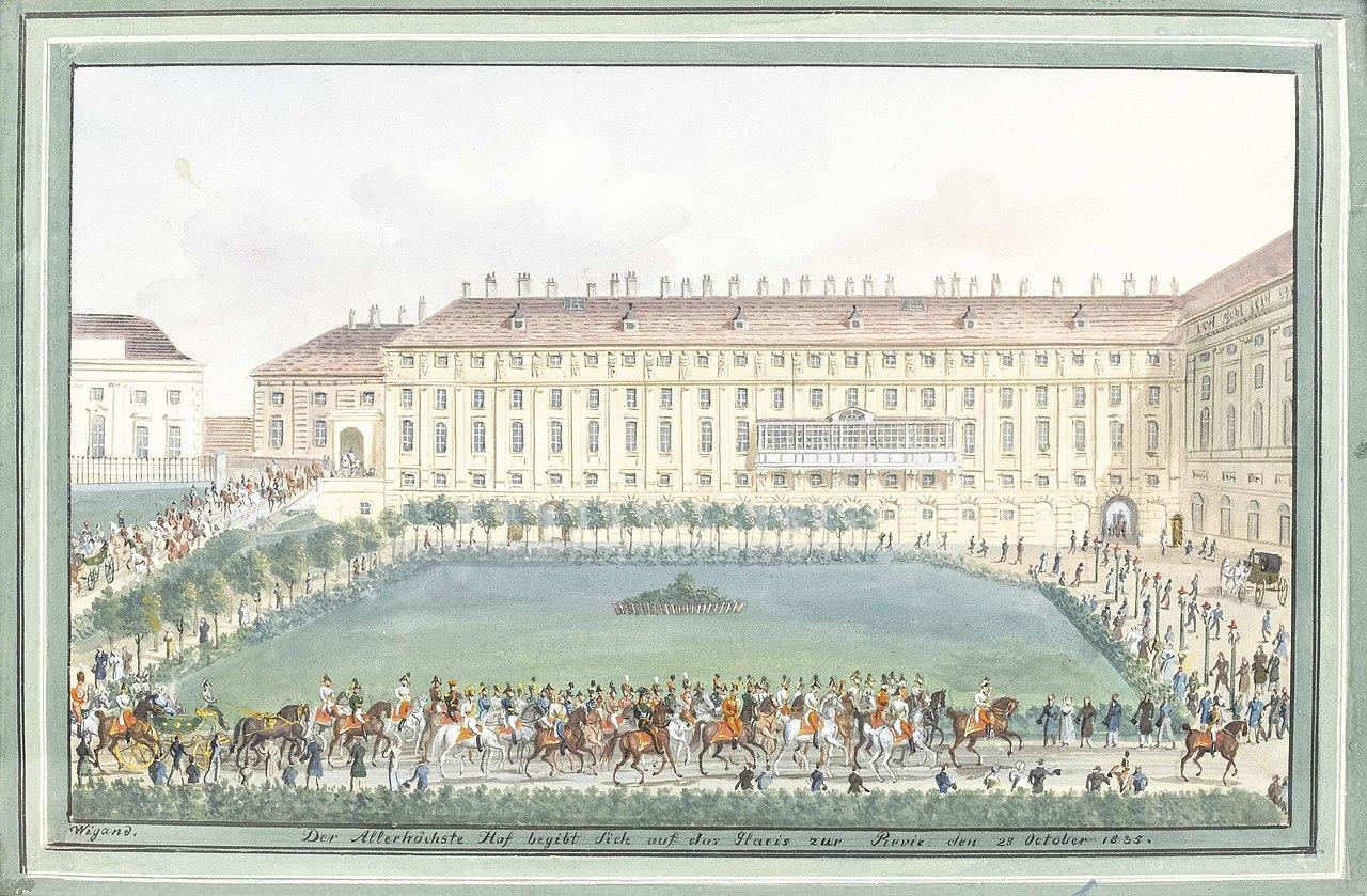 Balthasar Wigand Wiener Hofburg 1835.jpg