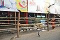 Bamboo Barricade - Durga Puja Festival - Shyamaprasad Mukherjee Road - Kolkata 2017-09-26 4396.JPG