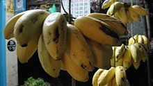Banana in vegetable stall.jpg