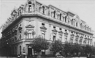 Headquarters of the Bank of the Argentine Nation - Image: Banco Nación (ca. 1921)