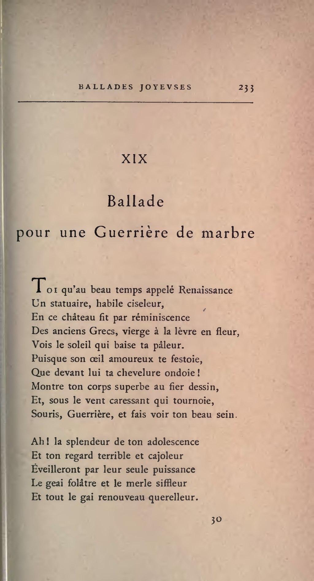 Page Banville œuvres Le Sang De La Coupe 1890 Djvu 243