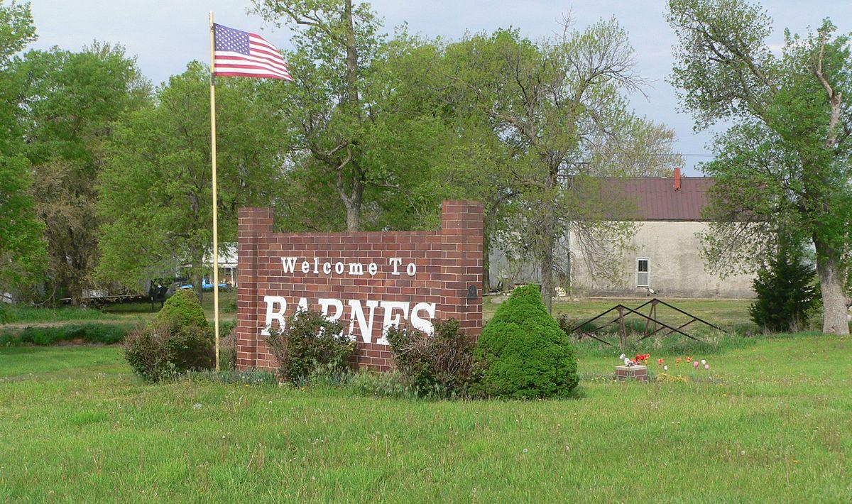 Barnes Kansas Wikipedia - Us state ks zip code