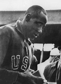 Barney Ewell American sprinter