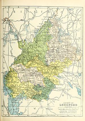 Ardagh (barony) - Image: Baronies of Longford