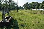 Piattaforma della stazione ferroviaria dell'ippodromo di Barrackpore - Cantonment di Barrackpore - 24 nord Parganas 2012-10-21 1055.JPG