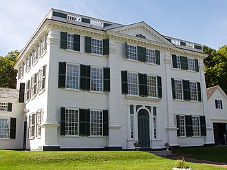 Barrett House (New Ipswich, New Hampshire) - A front view of the house