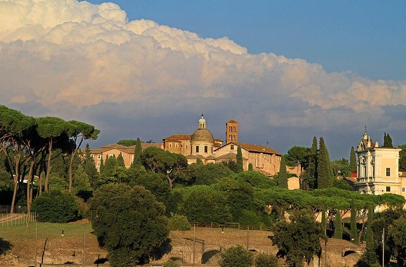 File:Basilica dei Santi Giovanni e Paolo vista dal Circo Massimo - panoramio.jpg