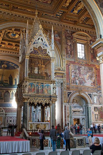 File:Basilica di San Giovanni in Laterano - Ciborium.jpg
