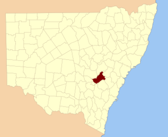 Bathurst War - The Bathurst county in which the war was fought.