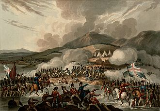 Campaign in south-west France (1814) - The Battle of the Bidassoa, 1813