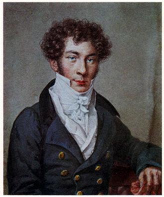 Konstantin Batyushkov - Batyushkov in 1815; portrait by Nikolai Utkin