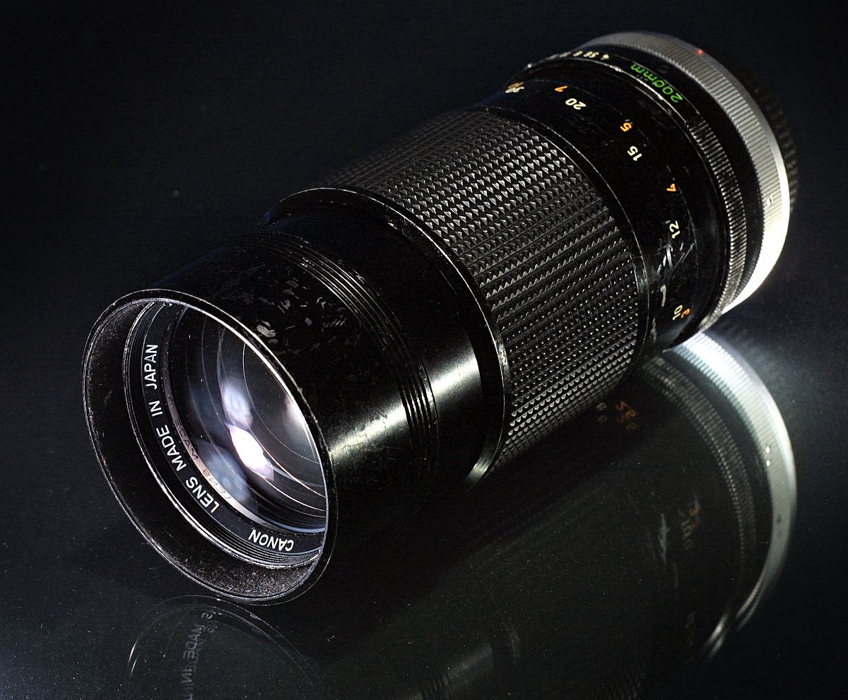 Used canon fd lens