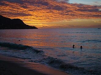Beau Vallon, Seychelles - Sunset Over Beau Vallon