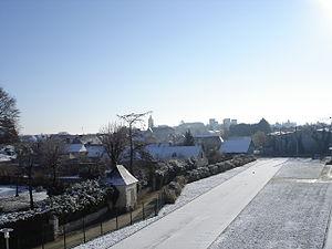 Beaufort-en-Vallée - Image: Beaufort en Vallee sous la neige