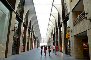 Beirut Souks - Shopping stores along vaulted alleys inside the Souks
