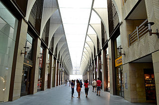 Beirut Souks commercial district located in downtown Beirut