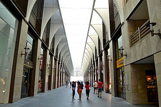 Beirut Souks - Shopping stores along vaulted alleys inside the Souks