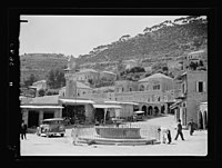 Beit Ed-Din. The Shehab Palace (held as a national monument). Lebanon. Deir el-Kamr. Town square LOC matpc.15454.jpg