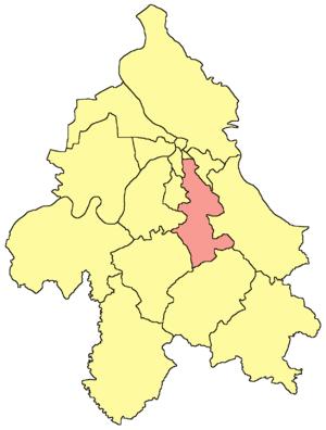 Voždovac - Image: Belgrade Vozdovac