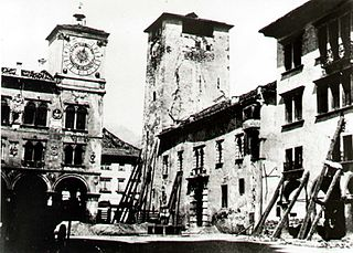 1873 Alpago earthquake