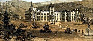 The Ben Rhydding Hydro circa 1858 – since demolished