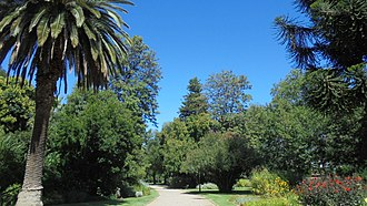Benalla - The botanic gardens at Benalla, Victoria