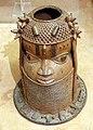 Benin, edo, altare per antenati, 02 testa.jpg