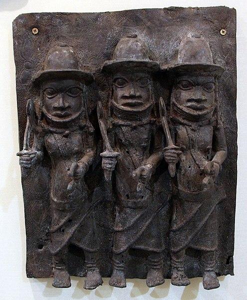 File:Benin, regno del benin, guerrieri.JPG