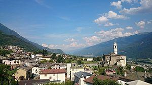 Berbenno di Valtellina - the town