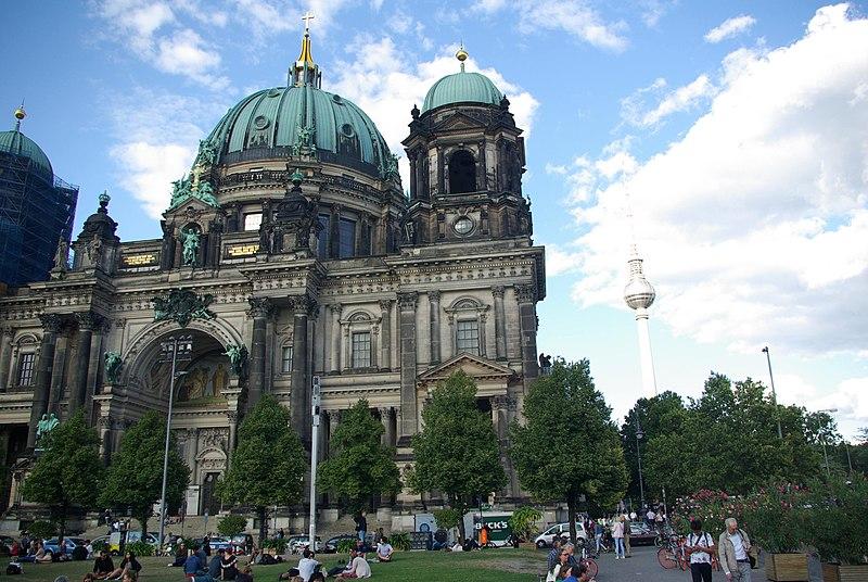 File:Berlin Dom and Alexanderplatz Tower.jpg