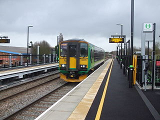 Bermuda Park railway station Station in Warwickshire, England