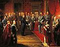 Bettino Ricasoli presenta il plebiscito di annessione della Toscana all'Italia di Vittorio Emanuele II di Savoia.jpg