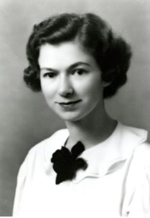 Beverly Cleary - Cleary as a senior at the University of California, Berkeley, 1938.