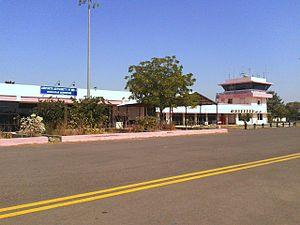 Bhavnagar Airport - Bhavnagar Airport airside