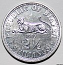 Biafran 2½ shilling coin from 1969 of aluminium..JPG